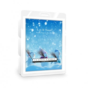 Wosk Let it Snow Classic Candle