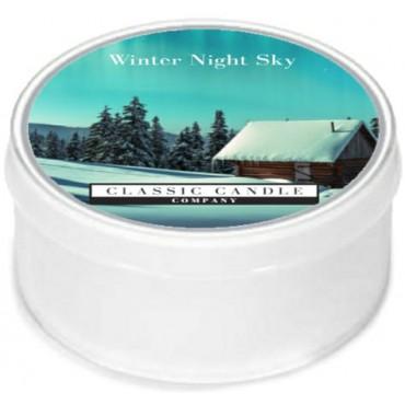 Daylight świeczka Winter`s Night Sky Classic Candle