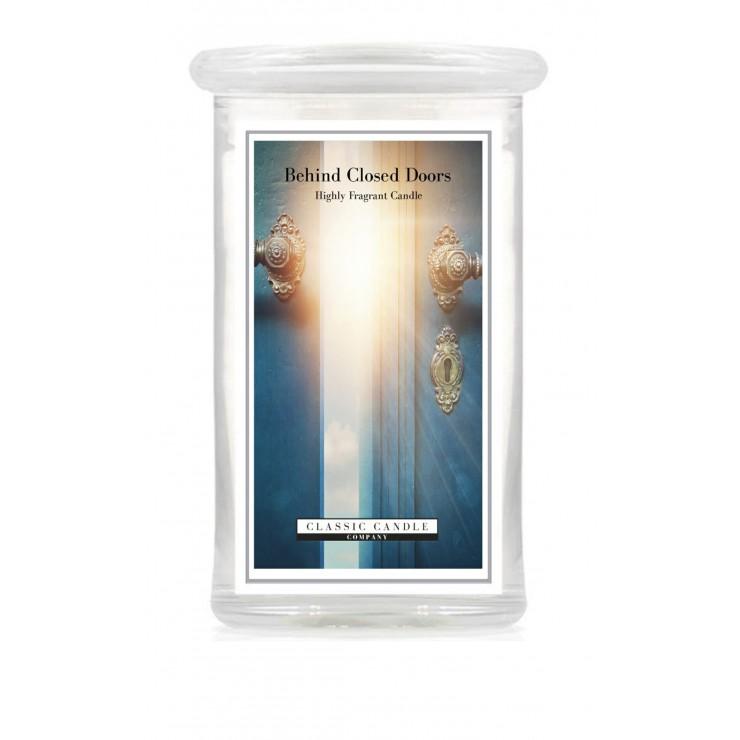 Duża świeca Behind Closed Doors Classic Candle