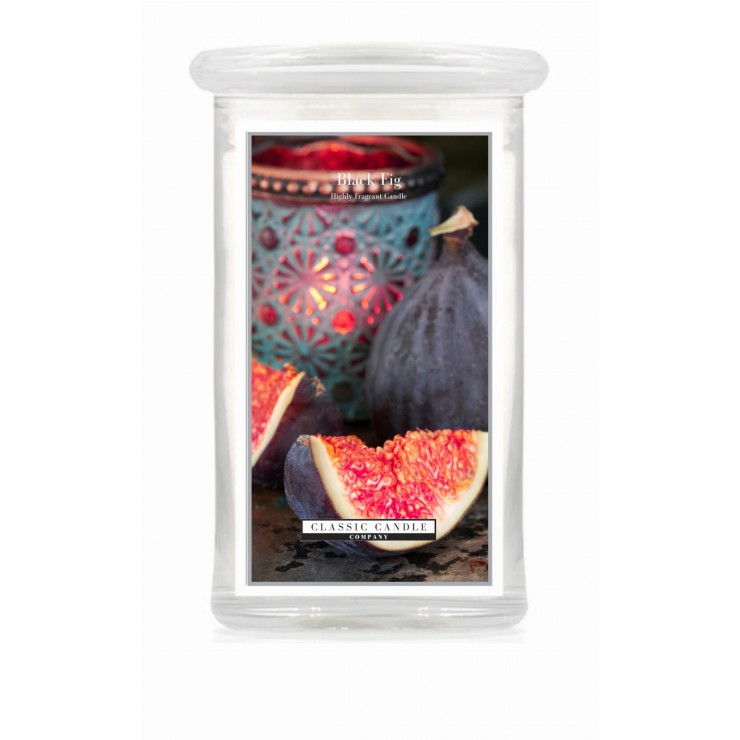 Duża świeca Black Fig Classic Candle