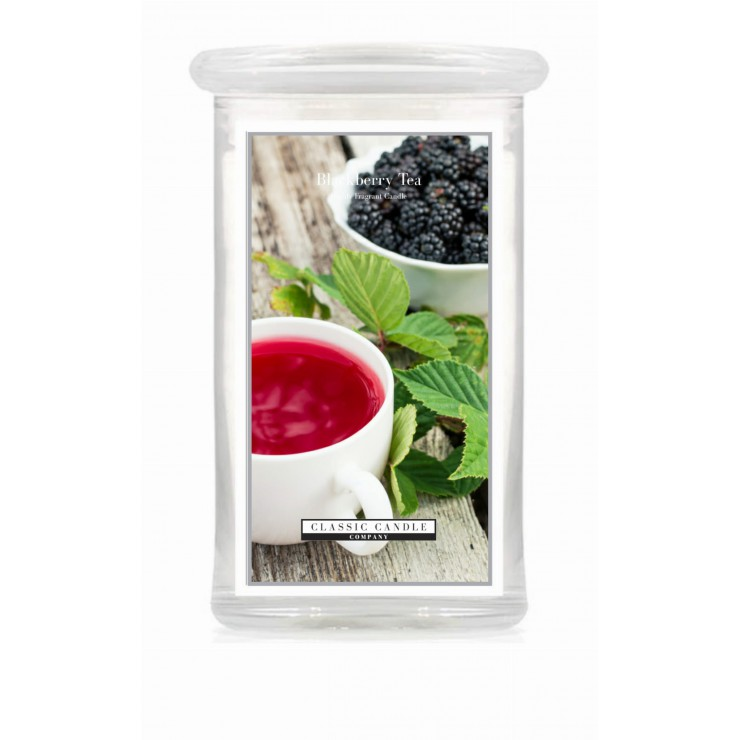 Duża świeca Blackberry Tea Classic Candle
