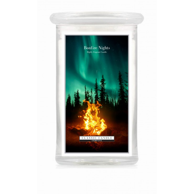 Duża świeca Bonfire Night Classic Candle