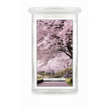 Duża świeca Cherry Blossom Classic Candle