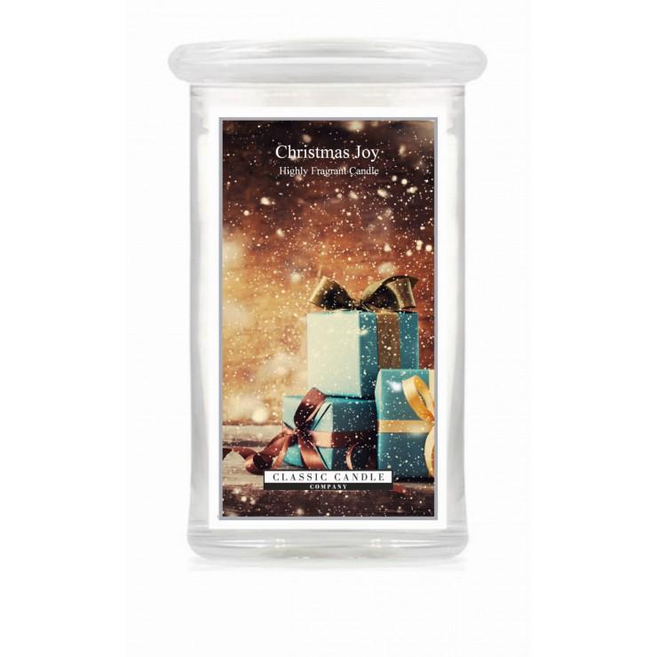 Duża świeca Christmas Joy Classic Candle