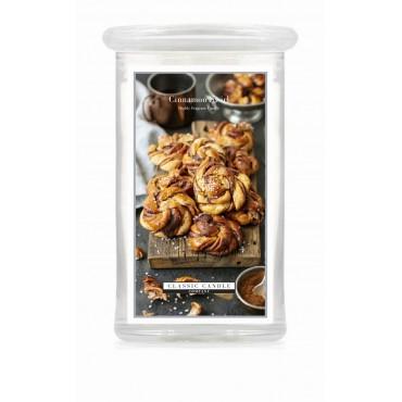 Duża świeca Cinnamon Swirl Classic Candle