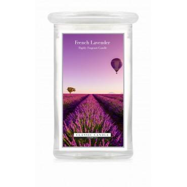 Duża świeca French Lavender Classic Candle