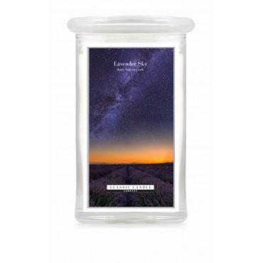 Duża świeca Lavender Sky Classic Candle