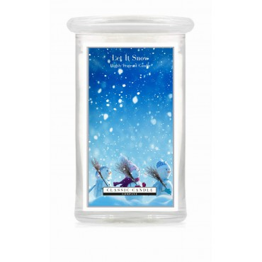 Duża świeca Let It Snow! Classic Candle