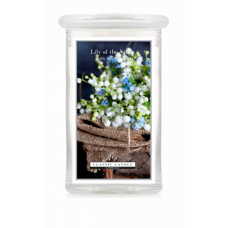 Duża świeca Lily of the Valley Classic Candle