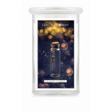 Duża świeca Love Magic Secret Classic Candle