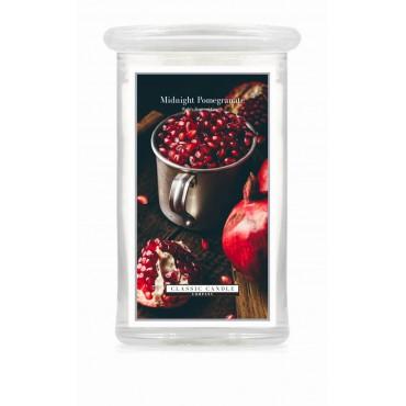 Duża świeca Midnight Pomegranate Classic Candle