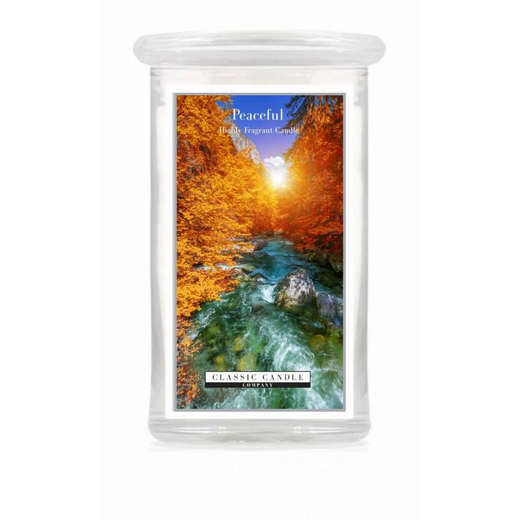 Duża świeca Peaceful Classic Candle