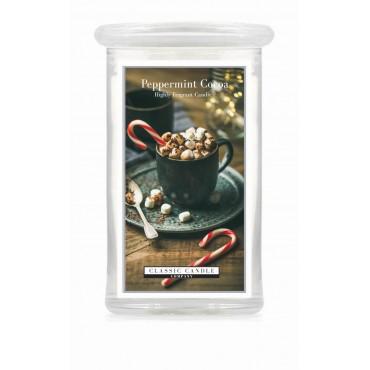Duża świeca Peppermint Cocoa Classic Candle