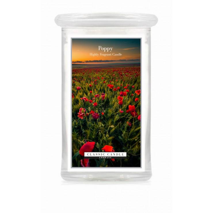 Duża świeca Poppy Classic Candle