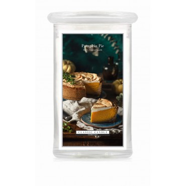 Duża świeca Pumpkin Pie Classic Candle