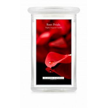 Duża świeca Rose Petals Classic Candle