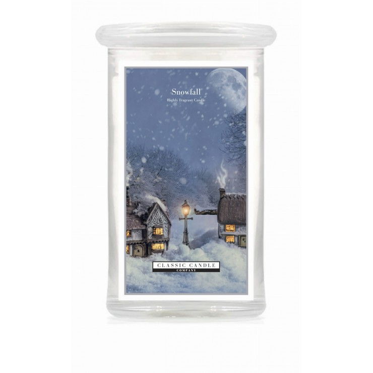 Duża świeca Snowfall Classic Candle
