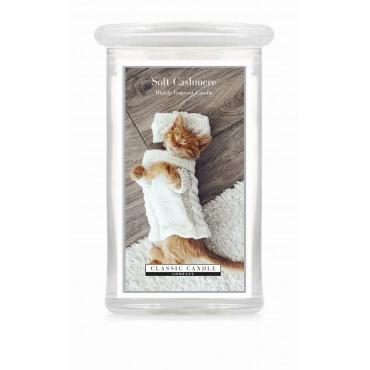 Duża świeca Soft Cashmere Classic Candle