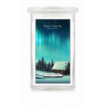 Duża świeca Winter`s Night Sky Classic Candle