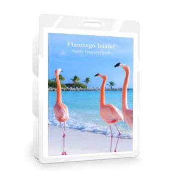 Wosk Flamingo Island Classic Candle