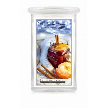 Duża świeca Orange And Anise Classic Candle