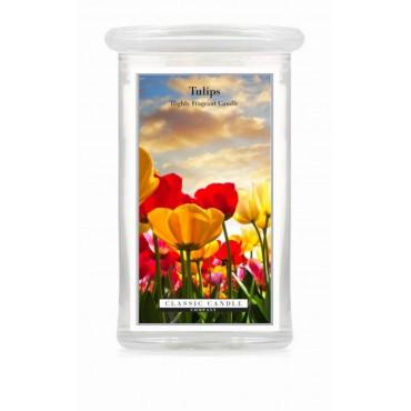 Duża świeca Tulips Classic Candle