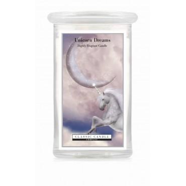 Duża świeca Unicorn Dreams Classic Candle