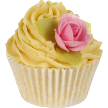 Maślana muffinka na 6 kąpieli Kwiat Pomarańczy i Jaśmin