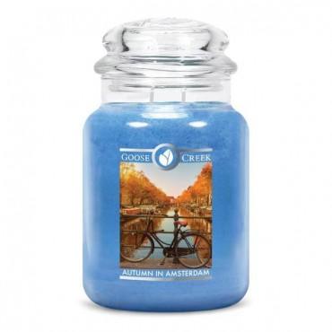Duża świeca Autumn in Amsterdam Goose Creek Candle