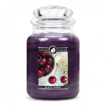 Duża świeca Black Cherry Goose Creek Candle