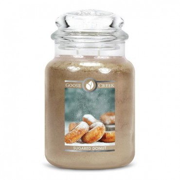 Duża świeca Sugared Donut Goose Creek Candle