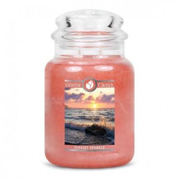 Duża świeca Sunset Sparkle Goose Creek Candle