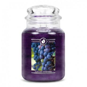 Duża świeca Tuscan Vineyard Goose Creek Candle