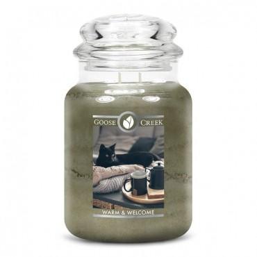 Duża świeca Warm & Welcome Goose Creek Candle