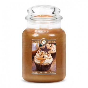 Duża świeca Salted Caramel Cupcake Goose Creek Candle