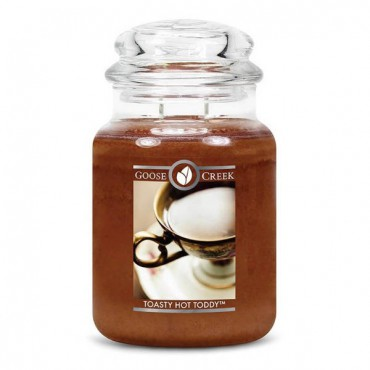 Duża świeca Toasty Hot Toddy Goose Creek Candle
