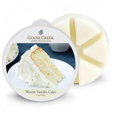 Wosk zapachowy Warm Vanilla Cake Goose Creek Candle