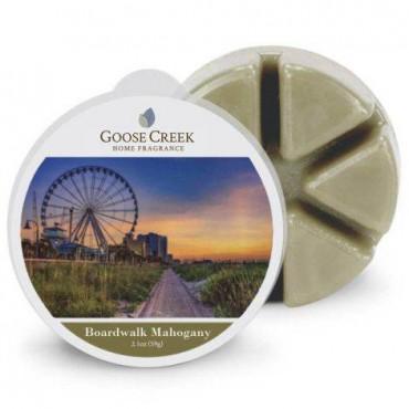 Wosk zapachowy Boardwalk Mahogany Goose Creek Candle