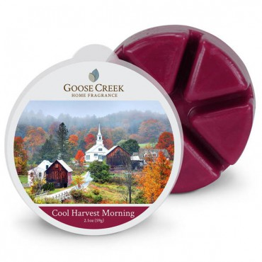 Wosk zapachowy Cool Harvest Morning Goose Creek Candle