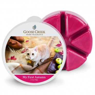 Wosk zapachowy My First Autumn Goose Creek Candle