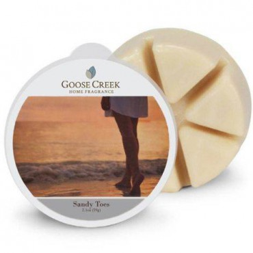 Wosk zapachowy Sandy Toes Goose Creek Candle