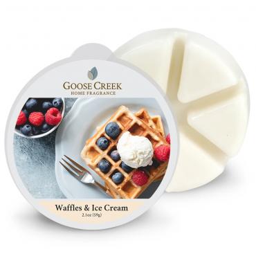 Wosk zapachowy Waffles & Ice Cream Goose Creek Candle