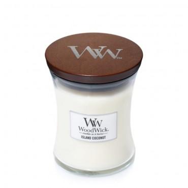 Mała świeca Island Coconut Woodwick
