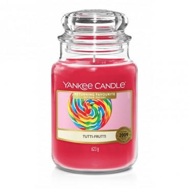 Duża świeca Tutti-Frutti Yankee Candle