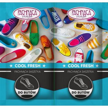 Pachnące saszetki do butów Cool Fresh Pachnąca Szafa