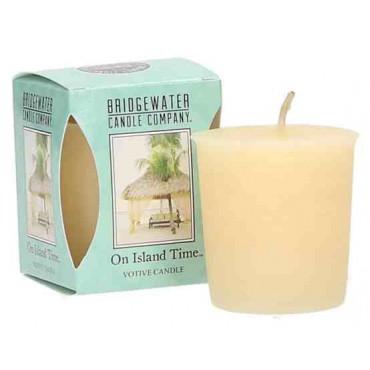 Świeca zapachowa Votive On Island Time 56 g Bridgewater Candle