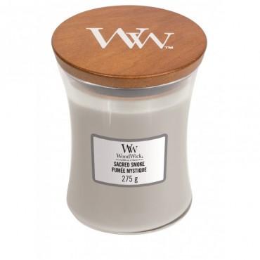 Średnia świeca Sacred Smoke Woodwick