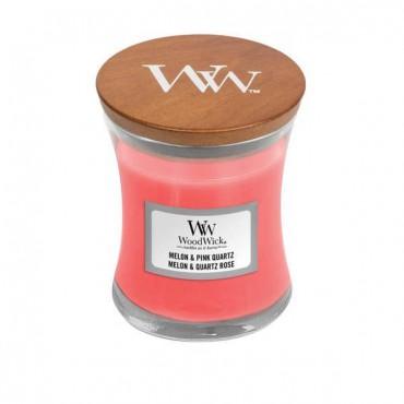 Mała świeca Melon & Pink Quartz Woodwick