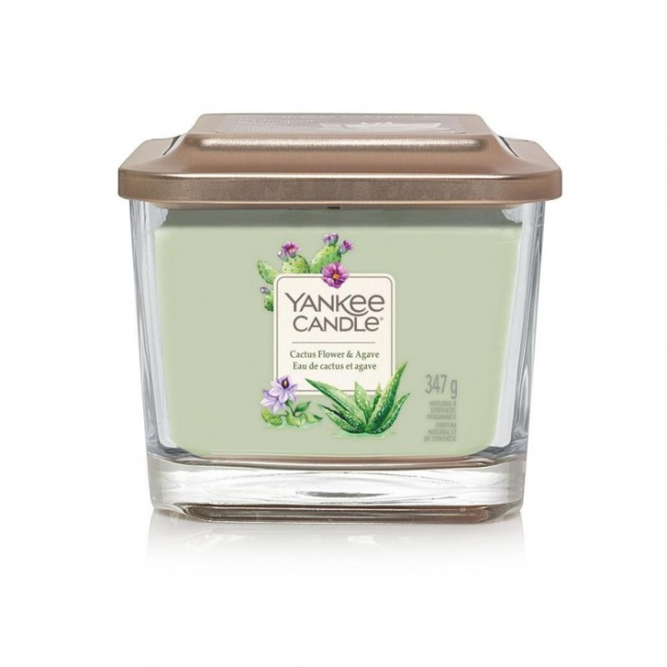 Elevation średnia świeca Cactus Flower & Agave Yankee Candle