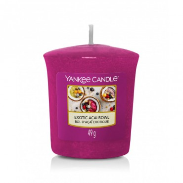 Sampler Exotic Acai Bowl Yankee Candle